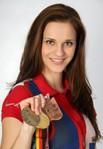 Danka Bartekova holte Bronze in London. Sie trainiert im Winter auf dem ST-2.