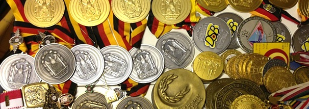Medaillensammlung von Claudia Gräfin von Kanitz